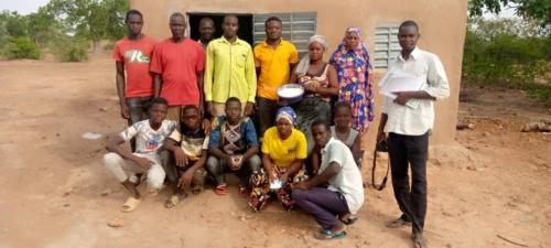 Zebra Mill in Burkina Faso