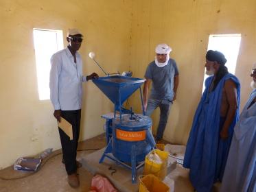 Solar Mill Mauritania