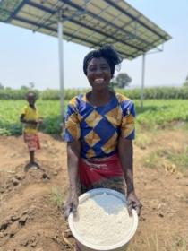 Solar mill Malawi