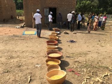 Mali buckets Solar mill