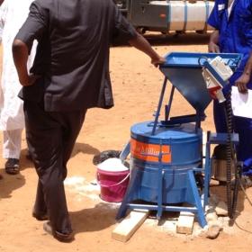 Niger solar mill flour