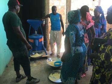 Solar mill Senegal