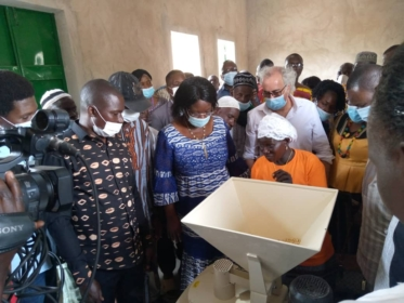 Zebra Mill by Solar Milling® in Burkina Faso